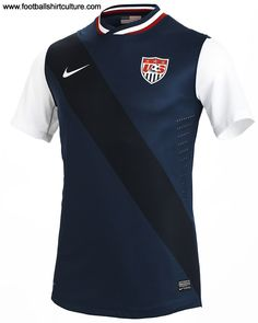 There is a new confidence about the U.S.; they are now recognized as a dynamic football nation who are contenders on the world stage, and the United States Men's National Team new away kit reflects the iconic collegiate look so prevalent in American fashion and culture.