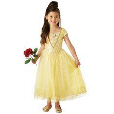 Déguisement Belle Disney™ fille princesse luxe