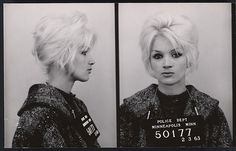 Bad Girl Mugshots From Between The 1940s And 1960s