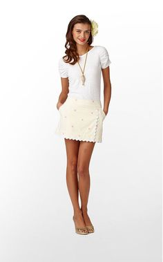 Obsessed with Lily Pulitzer Spring 2012 Skirt line...