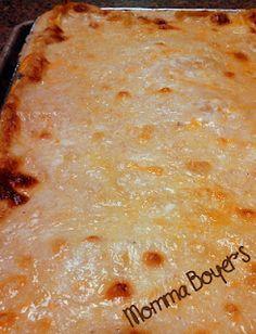 Chicken Alfredo Lasagna - Ooooey Goooey Garlicy Cheesey Goodness