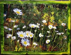 Artist is John Sollinger.  He creates intricate glass mosaics through multiple layers.  Stunningly beautiful.