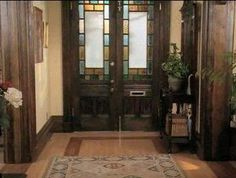 Part of the foyer charmed house pinterest foyers and for Charmed tour san francisco