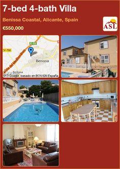 7-bed 4-bath Villa in Benissa Coastal, Alicante, Spain ►€550,000 #PropertyForSaleInSpain
