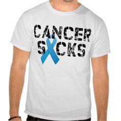 Colon Cancer Sucks Tshirts