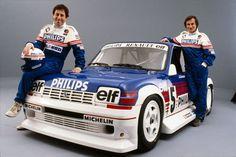 Jean-Louis Bousquet et Jean Ragnotti animèrent avec brio la saison 1986 du championnat «Production».