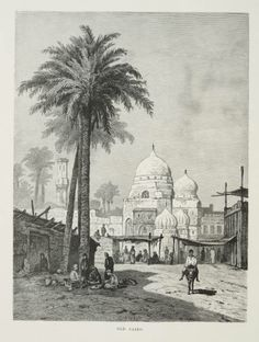 A view of old Cairo, Egypt. By Welsch, F.C. [CC-BY-SA-2.5 (http://creativecommons.org/licenses/by-sa/2.5)], via Wikimedia Commons
