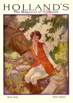 """Holland's"" magazine, May 1929"