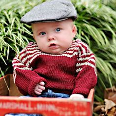 Children Clothing  Baby Sweater Unisex Hand by YellowHouseKnits, $55.00