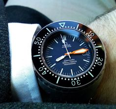 Vintage OMEGA Seamaster Ploprof 1000 Heavy Duty Diver In Stainless Steel Circa 1970s