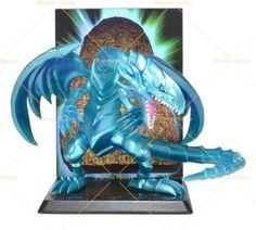 Yu-Gi-Oh! Diorama - Drago Bianco Occhi Blu