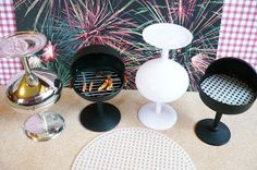A Small Hearts Desire: Barbecue Grill from Champagne nut cups