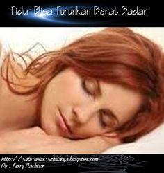 Tidur Bisa Turunkan Berat badan