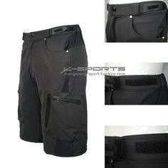 Black-Cycling-Mens-Mountain-Bike-Bicycle-Shorts-Half-Pants-3D-Padded -Underwear. 37e415310