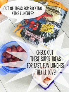 """This is a sponsored post written by me on behalf of Marvel. All opinions are entirely my own. Do your kids give you """"the look"""" when they open their lunch boxes and see what you've packed?"""