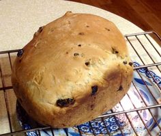 """Cinnamon Raisin Bread For The Bread Machine ---was great  Ingredients  1 cup water 2 tablespoons margarine 3 cups flour 3 tablespoons sugar 1 1/2 teaspoons salt 1 teaspoon cinnamon 2 1/2 teaspoons yeast 3/4 cup raisins  Directions:  1 Add all the ingredients in order given except the raisins. 2 Add raisins in on the """"add in"""" beep. 3 Bake on """"sweet bread"""" setting"""
