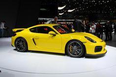 Porsche Cayman GT4 Geneva debut