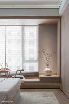 Japan Interior, Home Interior Design, Interior Architecture, Home Bedroom, Bedroom Decor, Zen Interiors, Minimalist Bedroom, Living Room Designs, Decoration