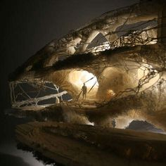 3D-Printed Cave Constructions - The ProtoHouse by Softkill Design (VIDEO)