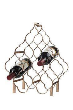 Quatrefoil Wine Rack on @HauteLook