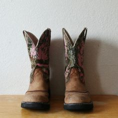 Boots Pink camo probaby boots Ariat Shoes Heeled Boots