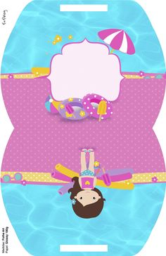 Maleta Pool Party Menina Pool Party Themes, Spa Party, Dolphin Party, Summer Birthday, Ideas Para Fiestas, Splish Splash, Baby Shark, Paper Crafts, Kids Rugs