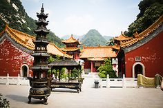 The Abbey. Xian, China, 2010.