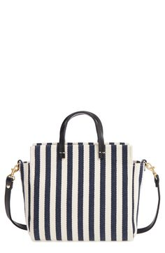 9069e9b567c3 Clare V. Petit Simple Stripe Tote available at  Nordstrom Luggage  Accessories