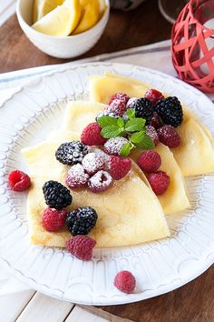 How to make the perfect crepe - Lemon Drop Crepes from WhipperBerry. The perfect addition to any breakfast or brunch!