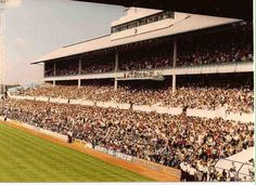 A packed Shelf Side at White Hart Lane 1970s