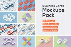 Business Cards Mockup Pack by Bulbfish Design on @creativemarket