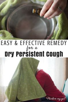 Easy and Effective Home Remedy for a Dry Persistent Cough