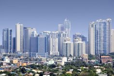 Photo about High rise condominiums and offices of fort bonifacio BGC modern financial and business district of metro manila in the philippines. Image of boifacio, bonifacio, building - 21017514 Regions Of The Philippines, Philippines Tourism, Mindanao, Quezon City, Famous Places, Capital City, San Francisco Skyline, Night Life, Islands