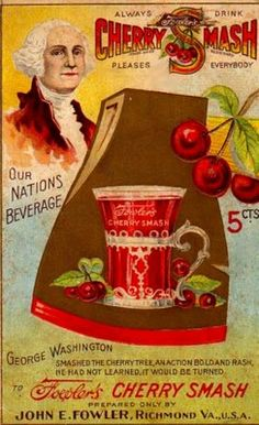 "Admittedly a bit before my time; but SOMEONE knows exactly what these are!!Vintage Ad: Fowler's Cherry Smash ""Our Nation's Beverage"""