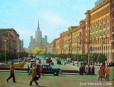 Цветные фото Москвы 1959 года / Назад в СССР / Back in USSR