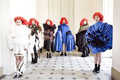 Ting Wu / Comme des Garçons - SS womenswear 2016