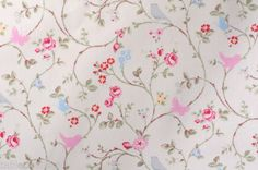 BIRD-TRAIL-PVC-WIPE-CLEAN-OILCLOTH-CLARKE-CLARKE-TABLE-CLOTH-click-for-sizes