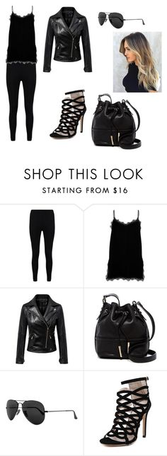 """""""Sin título #228"""" by nicollehart on Polyvore featuring moda, Boohoo, River Island, Chicnova Fashion, French Connection y Ray-Ban"""