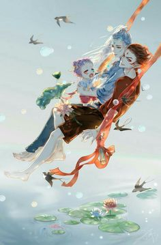 Read Fanart 1 from the story [DROP]《Natra và Ngao Bính》Fanart + Doujinshi by with reads. Anime Demon Boy, Anime Angel, Anime Art Girl, Anime Guys, Fantasy Art Men, Fantasy Girl, Yandere Boy, Haikyuu Manga, Anime Chibi