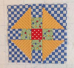 Puss in the Corner block 2 | Flickr - Photo Sharing! Gypsy Wife Quilt in process