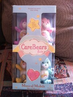 Sammy Ella's Boutique » Care Bear Bears Musical Mobile Crib Baby Nursery New