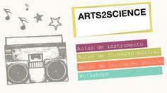 aulas de música, ciência e ambiente.