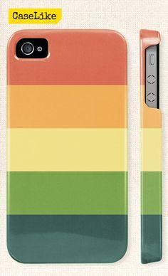 3D #iPhone 5 #Case  Modern #Pastel #Stripes #Geometric 206 by #caselike, $22.00