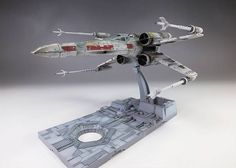 Bandai x Star Wars 1/72 X-Wing Starfighter: Amazing Work by oyoshicity.