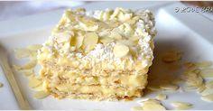 Tarta z truskawkami i bitą śmietaną (bez pieczenia) - I Love Bake Cold Desserts, Cookie Desserts, Sweet Desserts, No Bake Desserts, My Favorite Food, Favorite Recipes, Sweet Cupcakes, Love Eat, Food Cakes