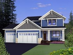 House Plan 42626 |  Plan with 2326 Sq. Ft., 3 Bedrooms, 3 Bathrooms, 3 Car Garage