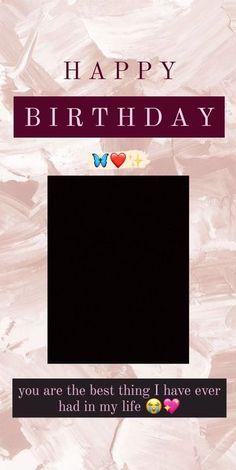 Happy Birthday Best Friend Quotes, Happy Birthday Posters, Happy Birthday Frame, Happy Birthday Quotes For Friends, Happy Birthday Wallpaper, Birthday Girl Quotes, Birthday Captions Instagram, Birthday Post Instagram, Hight Light