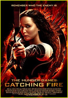 Jennifer Lawrence The Hunger Games Catching Fire Poster!