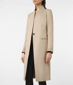 Mujer Odile Coat (SAND BROWN) - product_image_alt_text_3