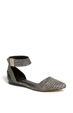 BCBGeneration 'Tilda' Ankle Strap Flat available at #Nordstrom